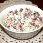 Як приготувати салат з квасолею і зеленою цибулею - рецепт