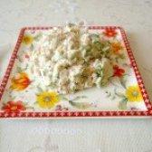 Як приготувати салат з ікрою тріски - рецепт