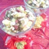 Як приготувати салат з консервованої червоної квасолі та морською капустою - рецепт
