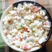 Як приготувати салат з крабовими паличками і кукурудзою - рецепт