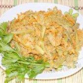 Як приготувати салат з курячою печінкою - рецепт