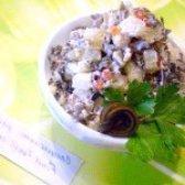 Як приготувати салат з ламінарією нептун - рецепт
