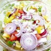 Як приготувати салат з цибулею і сиром фета - рецепт