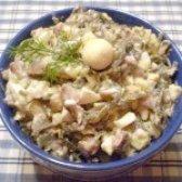Як приготувати салат з морською капустою і перепелиними яйцями - рецепт