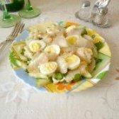 Як приготувати салат з палтусом - рецепт