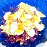 Як приготувати салат з пекінської і червонокачанної капусти - рецепт