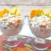 Як приготувати салат з рисом і свининою - рецепт