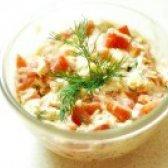 Як приготувати салат з сиром і помідорами - рецепт