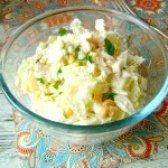 Як приготувати салат з тріскою і пекінською капустою - рецепт