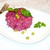Як приготувати салат з буряком і горошком - рецепт