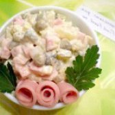 Як приготувати салат столичний із сиром і французькою гірчицею - рецепт