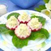 Як приготувати салат в кошиках з редису - рецепт