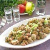 Як приготувати шампіньйони в сухарях на закуску - рецепт