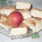 Як приготувати шарлотку з яблуками з бісквітного тіста - рецепт