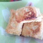 Як приготувати листкові пиріжки з яблуками - рецепт
