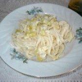 Як приготувати спагетті з соусом з кабачка - рецепт