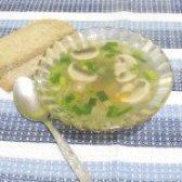 Як приготувати суп гречаний з грибами - рецепт
