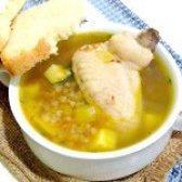 Як приготувати суп гречаний з курячими крильцями - рецепт