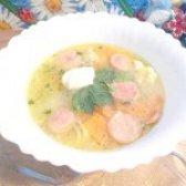 Як приготувати суп з яйцем і сосискою - рецепт