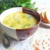 Як приготувати суп з червоною сочевицею і сиром - рецепт