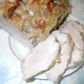 Як приготувати свинину запечену з яблуком - рецепт