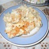 Як приготувати тріску запечену на капустяної подушці - рецепт