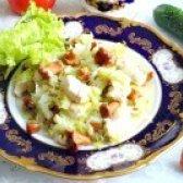 Як приготувати тушковану капусту з лисичками і курячою грудкою - рецепт