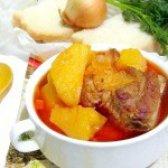 Як приготувати тушковану картоплю з реберцями - рецепт
