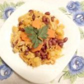 Як приготувати тушковану капусту з овочами і червоною квасолею - рецепт