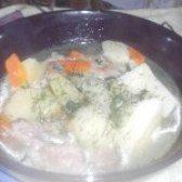 Як приготувати тушковану картоплю з свинячими реберцями - рецепт