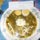 Як приготувати український зелений борщ зі щавлем - рецепт