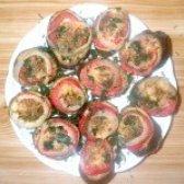 Як приготувати запечені баклажани з помідорами і сиром - рецепт
