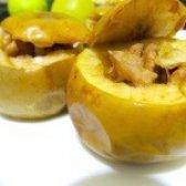 Як приготувати запечені яблука з медом та горіхами - рецепт