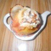 Як приготувати запечені яблука з сиром та родзинками - рецепт