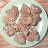 Як приготувати смажену курячу печінку з цибулею - рецепт