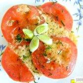 Кулінарний рецепт бутерброди в духовці з фото
