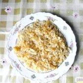 Кулінарний рецепт гарнір з рису з морквою і цибулею з фото