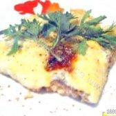 Кулінарний рецепт горбуша, запечена з сиром з фото