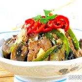 Кулінарний рецепт яловичина з грибами і кунжутом з фото