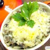 Кулінарний рецепт грибний жульєн з вершками з фото