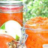 Кулінарний рецепт ікра з моркви з томатами на зиму з фото