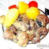 Кулінарний рецепт індичка з овочами з фото