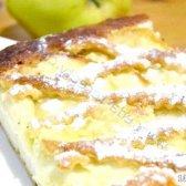 Кулінарний рецепт яблучний пиріг з сиром з фото