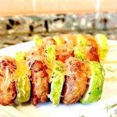 Кулінарний рецепт кабачки з фаршем в духовці з фото