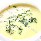Кулінарний рецепт кабачкової пюре-суп з фото