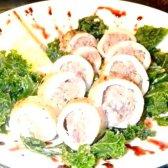 Кулінарний рецепт кальмари фаршировані грибами з фото