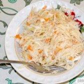 Кулінарний рецепт капуста квашена в розсолі з фото