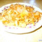 Кулінарний рецепт капуста з грибами з фото