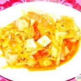 Кулінарний рецепт капуста з ковбасою з фото