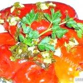 Кулінарний рецепт консервований болгарський перець з фото